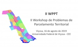 II Workshop de Problemas de Parcelamento Territorial